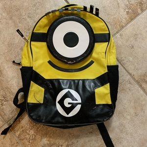 Minion backpack used but still in good condition.